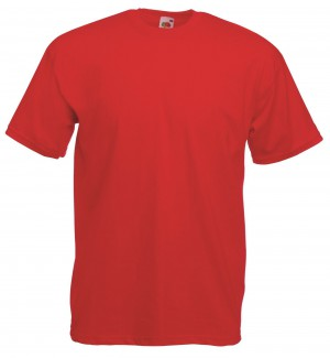 Cotton Valueweight Tee T-Shirt-red-xxl